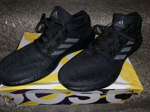Men's adidas Pureboost Go, Black/Grey/Carbon shoes size 13 for Sale in Columbus, OH