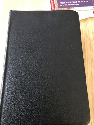 1967 copy of KJV leather Bible for Sale in Durham, NC
