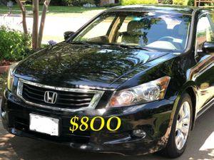 🔑💲8OO URGENT I sell my family car 🔑2OO9 Honda Accord Sedan V6 EX-L power start Runs and drives very smooth!.🔑🔑🔑 for Sale in Santa Ana, CA