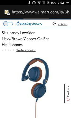 Skullcandy headphones for Sale in San Antonio, TX