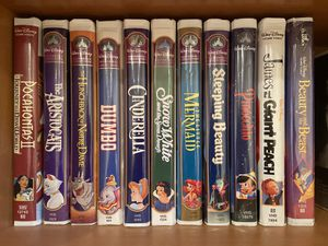 Authentic Walt Disney Masterpiece VHS Collection - 28 VHS for Sale in East Brunswick, NJ