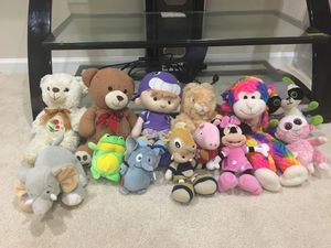 Plush toys for Sale in Chantilly, VA