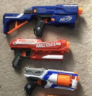 3 Nerf Toys (working condition) for Sale in Norfolk, VA