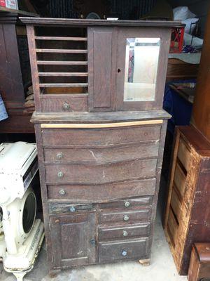 Antique Oak Dental Cabinet for Sale in West Lake Hills, TX