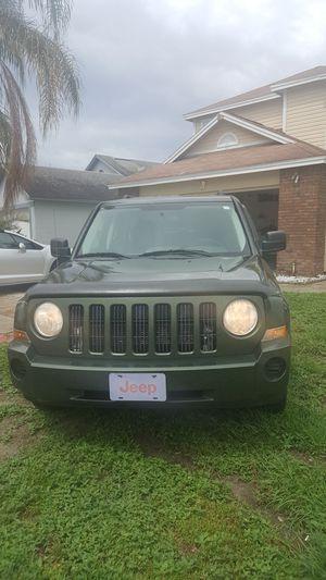 Jeep patriot 2008 automatico 4 cilindros.titulo limpio haha su oferta for Sale in Orlando, FL