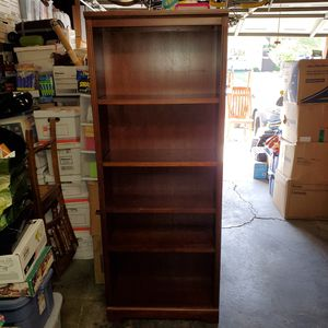 Wood Bookcase for Sale in Concord, CA