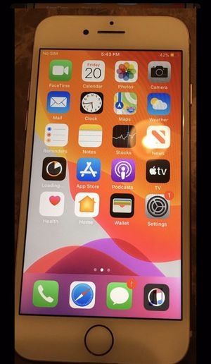 iPhone 8 Gold 64gb T-mobile / METRO- PCs/ Mint Mobile for Sale in Kissimmee, FL