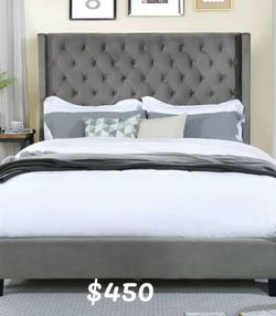 QUEEN BED FRAME AND MATTRESS INCLUDED for Sale in Hermosa Beach,  CA