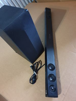 LG SoundBar System S55A3-D with Wireless Subwoofer LAS454B for Sale in Palos Hills, IL