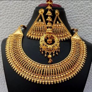 22k gold plated jewelry set for Sale in Silver Spring, MD