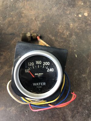 Auto Meter Water Temperature Gage for Sale in Anaheim, CA