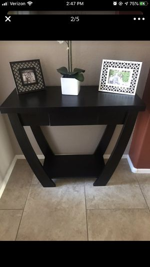 Black console table for Sale in Glendale, AZ