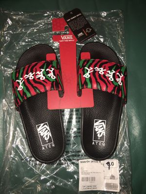 SOLD OUT Vans x ATCQ (A Tribe Called Quest) Slide 7M $75 OBO for Sale in West Palm Beach, FL