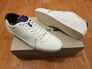 Leather lacoste size 10 for Men for Sale in Lynwood, CA