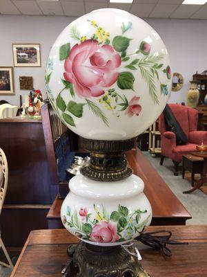 Antique lamp floral globes for Sale in Fort Washington, MD