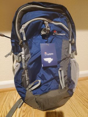 Mountaintop Adventure 40L Hiking Backpack Sapphire Blue/Grey New W/Tags for Sale in Atwater, CA
