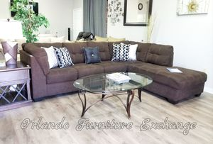 $789 FREE DELIVERY! BRAND NEW BROWN ASHLEY SECTIONAL SOFA for Sale in Oviedo, FL