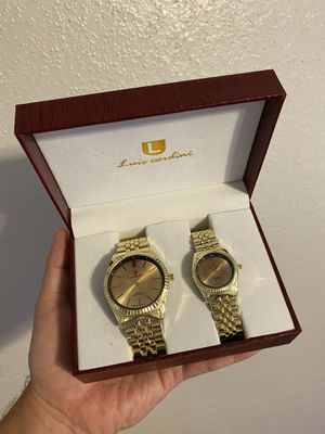 Luis Cardini Watch her and His for Sale in Houston, TX