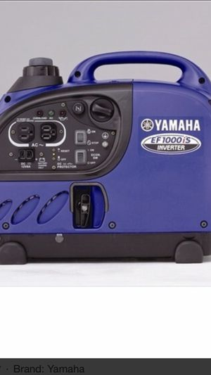 Yamaha Inverter generator EF1000IS for Sale in Dracut, MA
