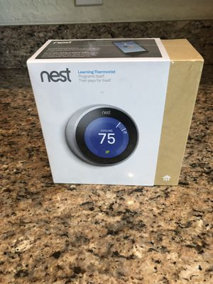 Nest learning thermostat for Sale in West Palm Beach, FL