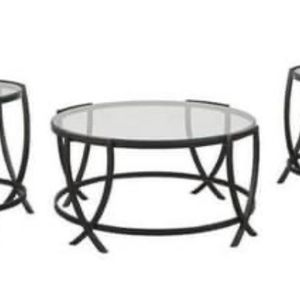 Glass Coffee table set for Sale in Cumberland, RI