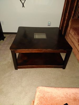 Living room coffee table Solid Wood for Sale in Stafford Township, NJ