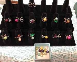 Pearl with Ring for Sale in Fairfax, VA
