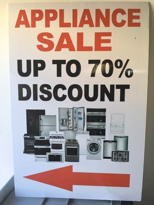 APPLIANCE WAREHOUSE SALE!!! for Sale in Los Angeles, CA