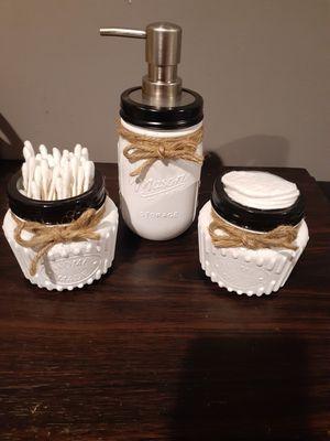 Mason jar set para el baño for Sale in Paramount, CA