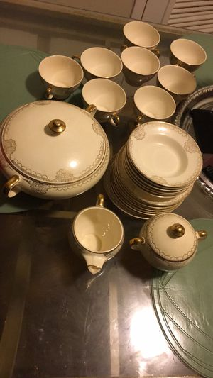 Gold China Antique Dishes for Sale in Lansdowne, MD