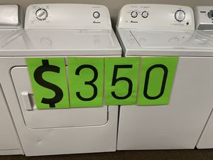 Amana Washer & Electric Dryer for Sale in Houston, TX