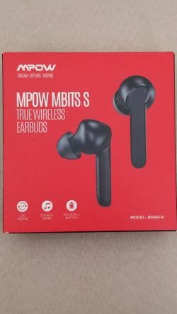 Brand NEW Wireless Earbud, Mpow True Bluetooth Earbuds In Ear w/Mic CVC8.0 Noise Cancelling Earphones, Bluetooth 5.0 Headphones Sports, Deep Bass/IPX8 for Sale in Long Beach,  CA