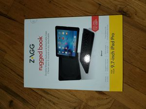 Zagg Rugged book case for ipad for Sale in Belleville, NJ