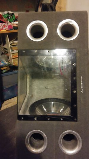 2 mtx 12's in ported box an sealed 2 12's box with no subs for Sale in Hampton, VA