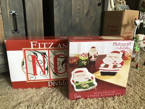 BRAND NEW FITZ & FLOYD and PFALTZGRAFF COLLECTABLES for Sale in Puyallup, WA