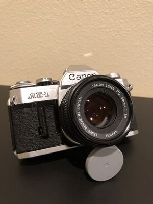 Canon AE-1 35mm SLR Vintage Analog Film Camera for Sale in Downey, CA