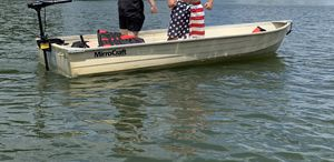 """MirroCraft 12"""" Aluminum boat ONLY for Sale in Somerset, NJ"""