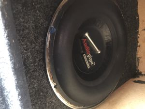 Audio pipe 10s 1000watts pre speaker for Sale in Tampa, FL