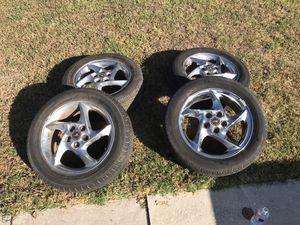 Grand Prix GTP wheels factory chrome Comp G for Sale in Dallas, TX
