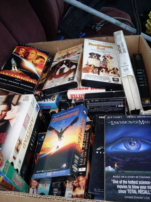 Vcr tapes misc for Sale in Zanesville, OH