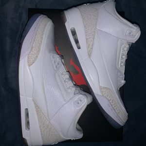 Jordan 3 Retro Pure White for Sale in Maywood, IL