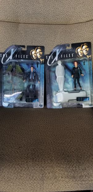 2 action figures from original X-files for Sale in Cape Coral, FL
