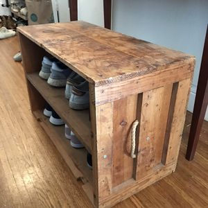 Wooden Shoe Rack for Sale in San Francisco, CA