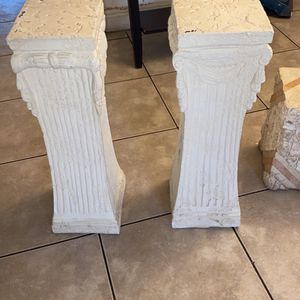Two Pillars, Stands Or Plant Holders for Sale in Fort Lauderdale, FL