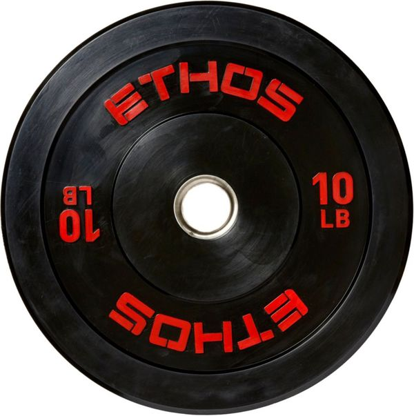 ETHOS 205 lb. Olympic Rubber Bumper Plate Set **[NEW IN BOX]**