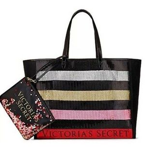 VICTORIA SECRET BLACK FRIDAY TOTE SEQUIN BAG GIFTS (Limited Edition) for Sale in Alhambra, CA