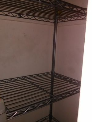 Closet Organizer Stainless Steel, 2 Closets, $75 Or Best Offers for Sale in Gaithersburg, MD