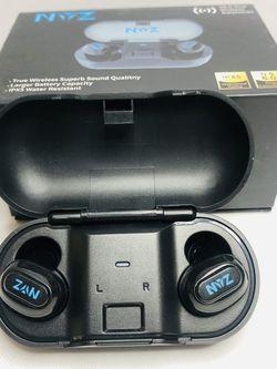 Wireless Earbuds, NYZ True Wireless Bluetooth 5.0 Earbuds Headphones in-Ear HiFi Stereo Sound Wireless Earphones with Sweatproof Volume Control Chargi for Sale in Los Angeles,  CA