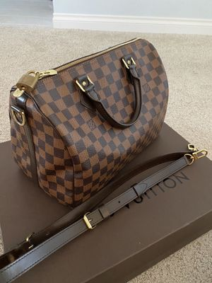 LOUIS VUITTON Damier Ebene Speedy Bandouliere 30 for Sale in Temecula, CA