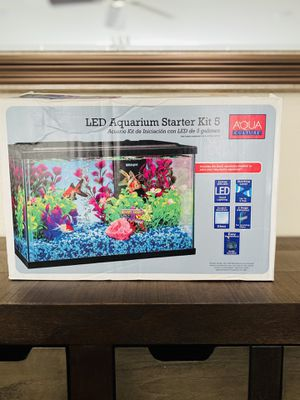 New open box led aquarium starter kit 5 gallon for Sale in Las Vegas, NV
